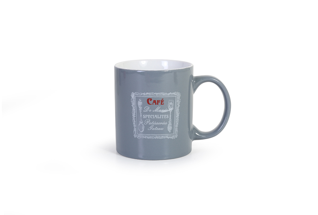 Cafe antique mug 01 P