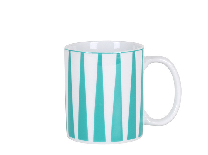 Strippes azul mug P
