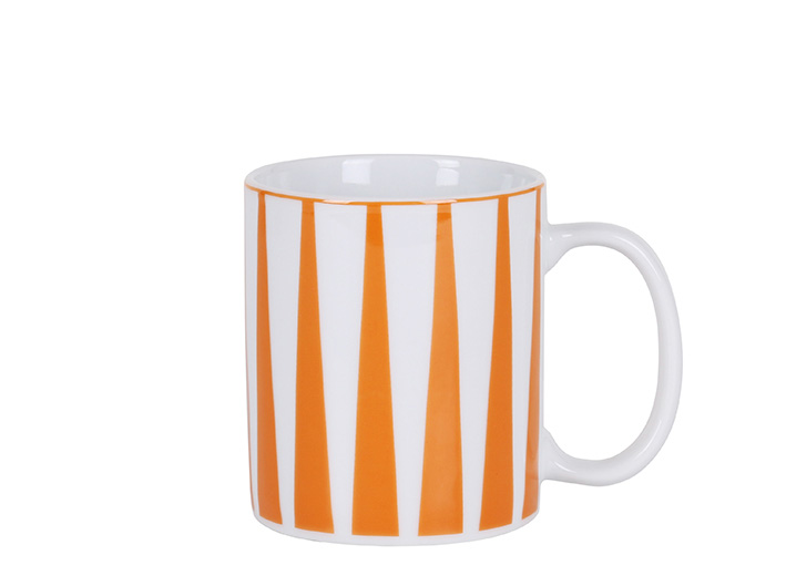 Strippes naranja mug P