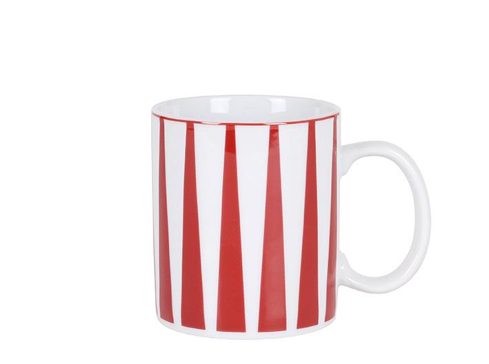 Strippes rojo mug P