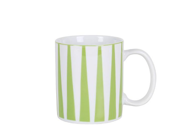Strippes verde mug P
